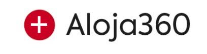Logo Aloja360. Enlace a la más fácil de usar para los alojamientos.